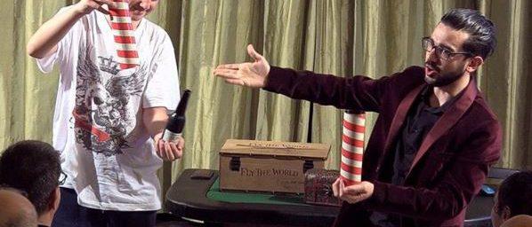 Prestigiatore adulti presentatore eventi milano magia